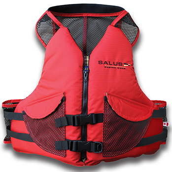 Salus Comfort Fit PFD Vest Red with Pocket