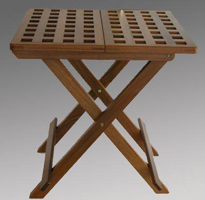 AFI Teak Folding Table   Square