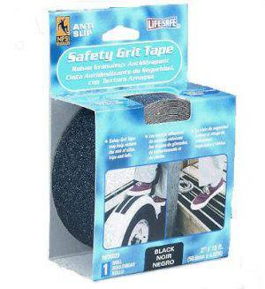 LifeSafe Safety Grit Tape Black 2in. x 15 ft.