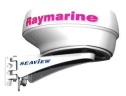 Seaview SM-18-R Mast Mount Raymarine and Garmin 18 in. Dome