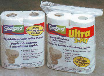 Sealand Toilet Tissue 1 Ply 4 Rolls