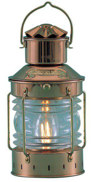 DHR Anchorlight Brass Oil Lamp 8611/O