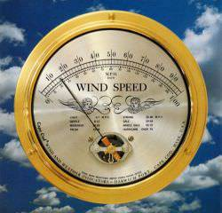 Cape Cod Wind & Weather - Wind Speed Indicator