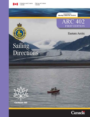 Sailing Directions Eastern Arctic 1st Edition