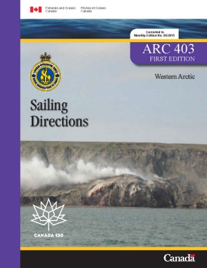 Sailing Directions Western Arctic 1st Edition