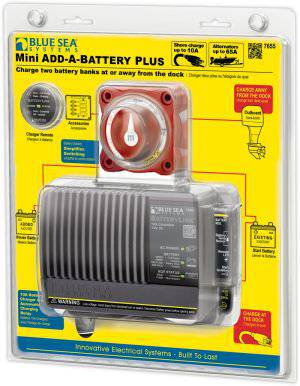 Blue Sea 7655 Mini Add a Battery Plus Kit - 65A