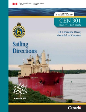 Sailing Directions St Lawrence River Montreal to Kingston 2nd Edition