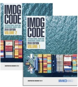 Buy IMO IMDG Code 2018 Edition in USA Binnacle com