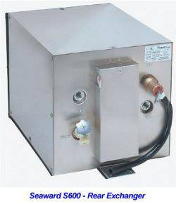 Seaward 600 Water Heater 6 Gallon Galvanized