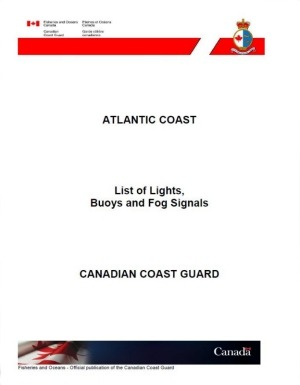 Canadian Coast Guard Atlantic Coast List of Lights