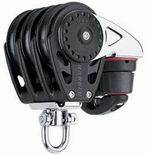 Harken 57mm Triple Swivel Carbo Block with Carbo-Cam