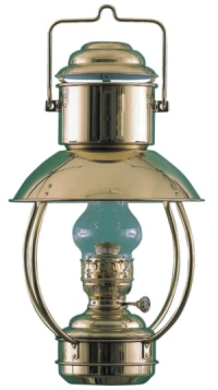 DHR Brass Trawler Oil Lamp with Ideal Burner 8201I/O