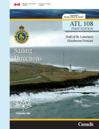 Sailing Directions Gulf of St Lawrence Southwest Portion 2006